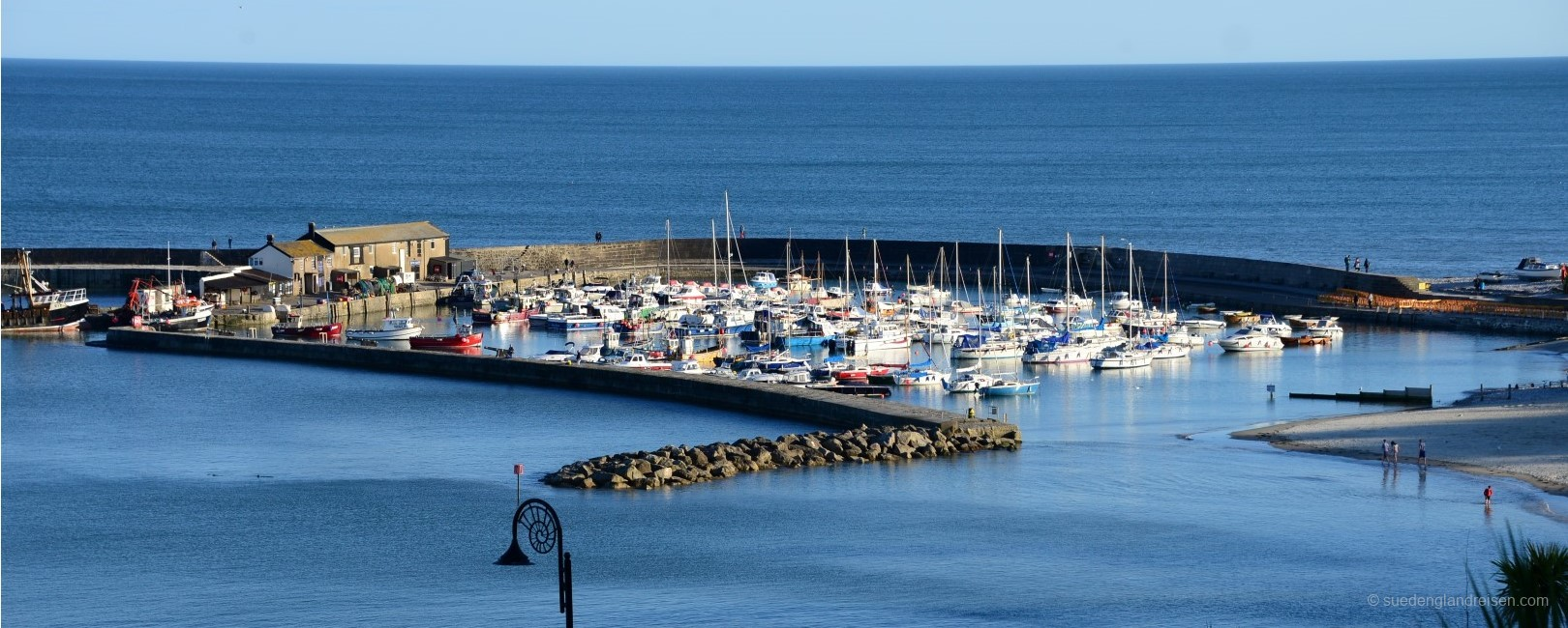 Lyme Regis on the English Channel